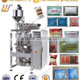 ketchup sachet packing machine. Sauce pouch filling packing machine. Paste VFFS auto packaging machine. (DCTWB- 420Y)
