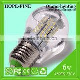 Waterproof 6W Liquid cooled LED Bulb Light, 850LM, CRI80, 60W Incandescent Replacement UL Certification