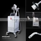 220 / 110V 2014 New Beauty Cryolipolysis Fat Freeze Machine / Slimming Reshaping Shock Wave Therapy Machine / Vacuum Cavitation Machine