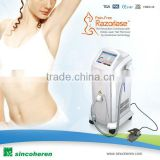 Medical Beijing Sincoheren Diode Laser Hair Removal Machine Ipl Shr Lightsheer Laser Diode Hair Removal Laser System 10-1400ms