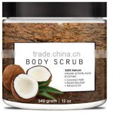 Customized Brand Coconut Sugar Body Scrub