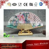 High quality 100% real Chinese silk fan with customized design