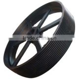 High quality OEM pulley pulley wheel small plastic pulley casting HT250 stainless steel pulley