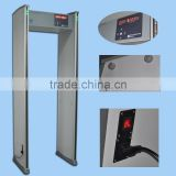 2016 Best fashion walk through metal detector gate with 6 zones.cheap walk through metal detector