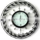 vintage acrylic decorative wall clock