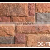 exterior textured stone veneer stone panel, cultured stone for wall cladding, artificial stone veneer tiles