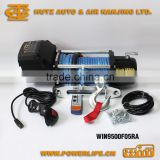12V 24V Electric Winch UTV Winch 4WD Winch with Synthetic Rope 8500lb 9000lb 9500lb WIN9500F05RA