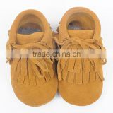 Made by true leather and soft sole new patten special desidned for girl kids baby winter boots