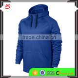 2017 fashion OEM Men Breathable athletic jogging Sports dri fit training hoodies wholesale