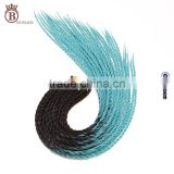 Wholesale Two Tone Colorful Synthetic Ombre Jumbo Braid Hair