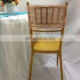 Luxury Fashion Rose Gold Christmas Chair Sashes