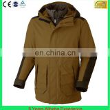 Men's winter mountain jacket outdoor very warm waterproof 3 in 1 jacket wholesale(6 Years Alibaba Experience)