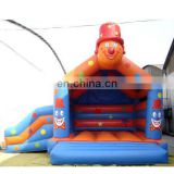 Inflatable bouncer Slide,clown Jumper Slide,