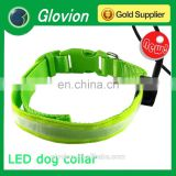 Durabl dog collar for training and hunting waterproof led dog collar USB rechargeable flashing collar