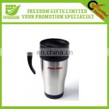 Top Quality Logo Print Screw Lid Travel Mug