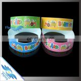 Full Color Printed Tyvek | Good looking brilliant tyvek wristbands | all knids cheap tyvek bracelet suppliers