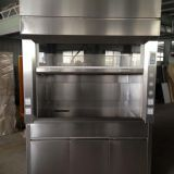 Stainless Lab Furniture Fuming Cabinet Cheap Price Stainless Steel Fume Cupboard 5 Feet Wide Laboratory Fume Hood