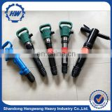Factory price hard stone used pneumatic pick air jack hammer for sale