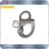 "2"" Fixed Bail Snap Shackle for Bracelet, Sailboat -Stainless Steel"