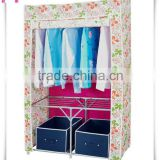 Folding Steel Bedroom Wall Wardrobe Design