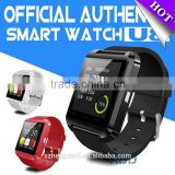 Bluetooth Smart Watch Wrist Wrap Watch Phone for IOS Apple Iphone 4/4s/5/5c/5s Android Samsung S2/s3/s4/note 2/note 3 for HTC