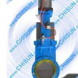 I'm very interested in the message 'Sell Pneumatic penetration knife gate valve' on the China Supplier