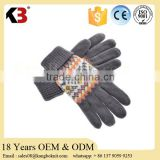 2016 Factory direct sell Merino Wool Knit personalized winter gloves customed