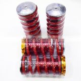 Aluminum Scaled Lowering Suspension Coilover Coil Springs For Civc 88-00 Red