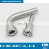 Hydraulic hose flange fittings 90 Degree SAE Flange 6000 PSI 87692
