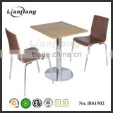KFC Mcdonald's fast food restaurant cheap bentwood chair