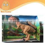 2014 hot sale good quality BO dinosaur with light , electric dinosaur animal for kids toys