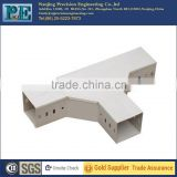 Custom precision sheet aluminum square tube connector