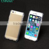 iPefet-shockproof smart phone case for iPhone, shockproof phone case for iPhone 6 with metal plate