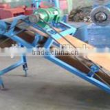 waste tyre rubber cracker / used rubber tire recycling machine / used rubber tire crusher machine