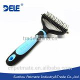 Dogs and puppies for sale Dog Grooming Comb Pet Dematting tool with 2 Sided Professional Grooming Rake for Cats & Dogs