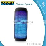 LED Flashing Speaker Wireless Bluetooth Boombox Stereo Speaker Portable For Smart Phones Tablet PC