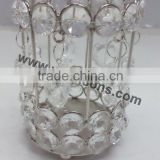 crystal votive For Weddings votive handmade crystal beaded tea light candle holder for decoration