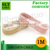SLT Braided Metal Case USB Data charger Cable for Iphone                                                                         Quality Choice