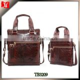 Italian leather vintage crocodile skin handbag on sale