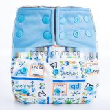 New arrival Bamboo charcoal AI2 baby diapers professional Cloth diaper wholesale