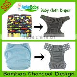 Custom Order AIO / Pocket /Baby Charcoal Bamboo Diapers