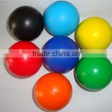 Hot Color Solid Rubber smooth Balls