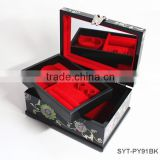High end handmade wooden cosmetic boxes with drawers
