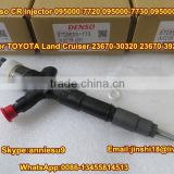 Denso Common Rail Injector 095000-7720, 095000-7730, 095000-7731 for TOYOTA Land Cruiser 23670-30320, 23670-39295