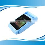 Factory price 4 inch touch Android pos terminal with thermal printer 1D/2D barcode scanner GSM GC068