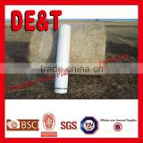 2015 new hot sale bale net, bale wrap plastic, round bale hay tarps cover