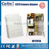 Colin New patent technology support Real DC12V 2A or 3A warranty 5 years AC DC CCTV power adapter