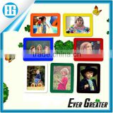 custom magnet fridge/refrigerator magnet picture frame,fridge magnet photo frames china wholesale