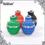 Babilon Shisha silicone bowl hookah hand grenade high temperature resistance in smoking pipe black/red/blue/green