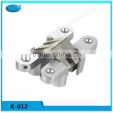 heavy duty Zinc alloy 180 degree furniture Invisible hinge /door concealed hinge /Cross hinge